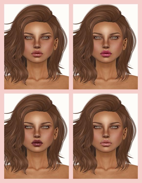 PXL Aeryn Olive Makeups 1,2,3,4