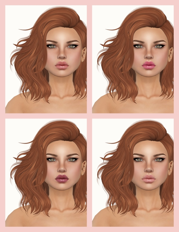 PXL Aeryn Sunkissed Makeups 1,2,3,4